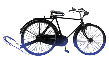 rubber bicycle